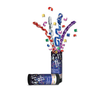 Multi-Color Confetti Bursts - 24ct