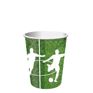 Soccer 9 oz. Cups