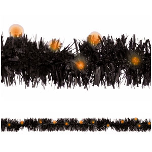 LED Tinsel Garland- 6ft