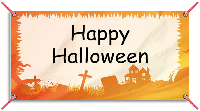 Orange Halloween - Custom Banner
