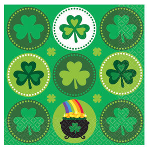 Pot of Gold Luncheon Napkins
