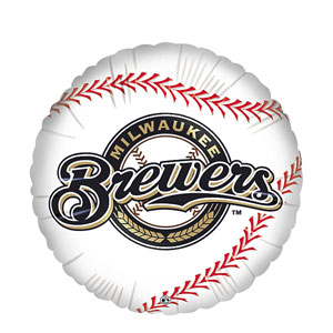 Milwaukee Brewers Balloon- 18in