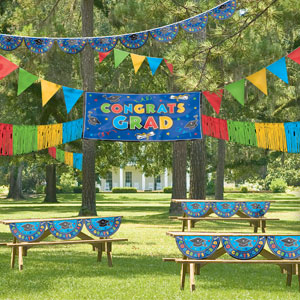 Multicolor Giant Outdoor Decorating Kit- 4pc