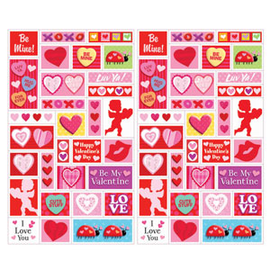 Valentine Sheet Stickers