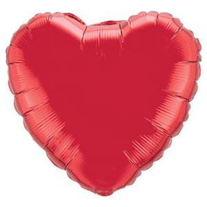 Red Heart Balloon- 18 Inch