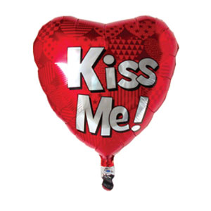 Kiss Me Balloon- 18 Inch