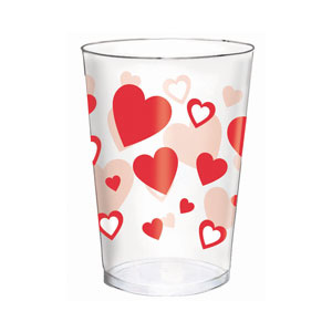 Red Heart Tumblers