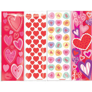 Valentine's Day Value Pack Stickers