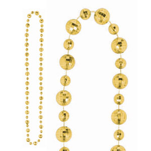 Disco Ball Necklace- Gold