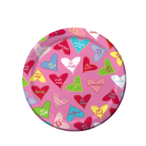 Candy Crush 7 Inch Plates