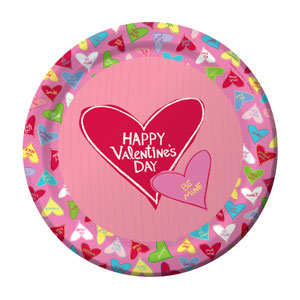 Candy Crush 9 Inch Plates