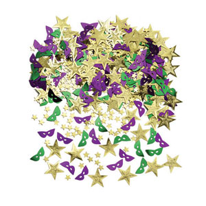 Stars and Masks Confetti