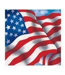 Patriotic Beverage Napkins- 18ct