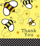 Buzz Thank you Cards