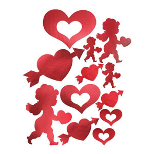Cupid and Heart Cutout Assortment