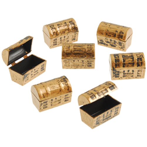 Mini Pirate Treasure Chests
