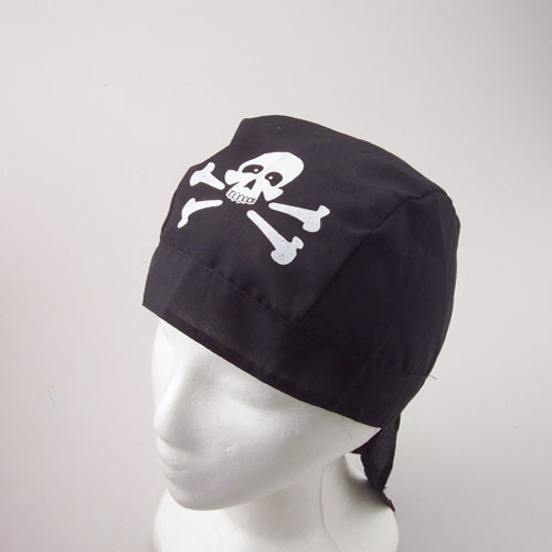 Pirate Bandanna Caps
