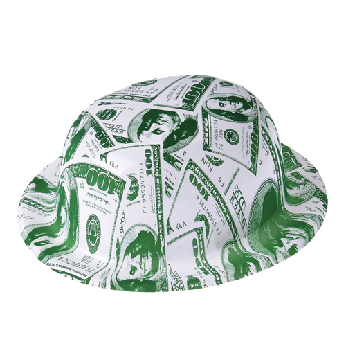 100 Dollar Bill Derby Hats