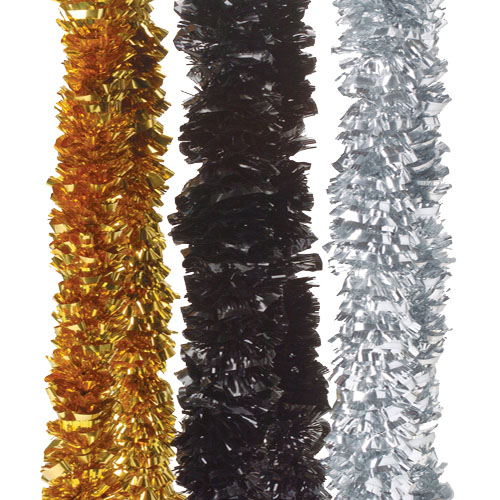 New Years Metallic Lei Necklaces