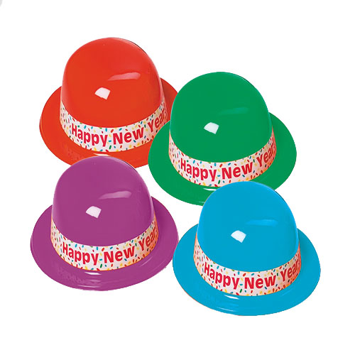 New Years Assorted Derby Hats