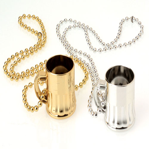 34 Inch Champagne Cup Necklaces - 12ct