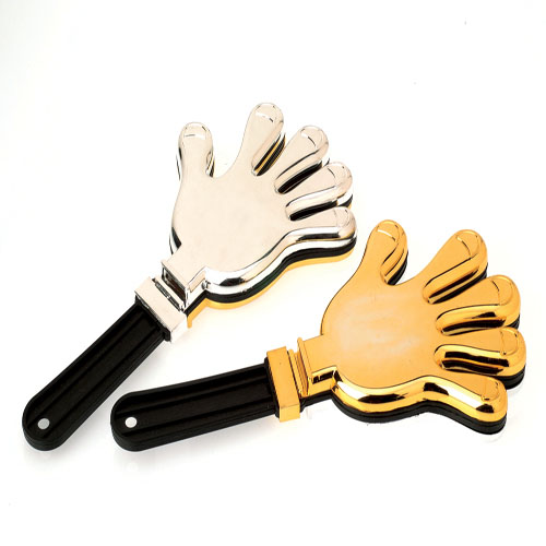 Giant Metallic Hand Clapper