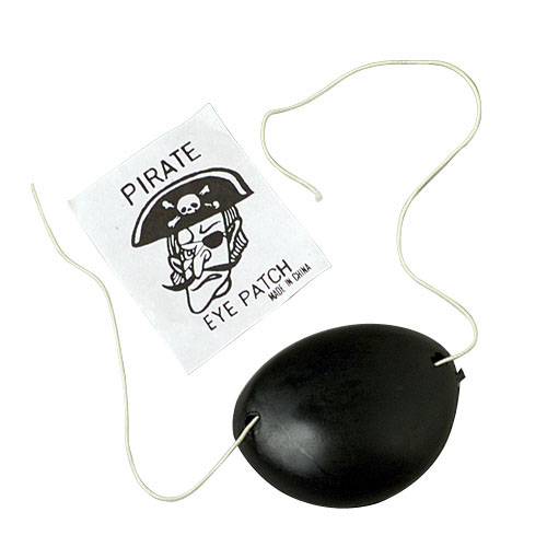 Pirate Eye Patches - 36 Count