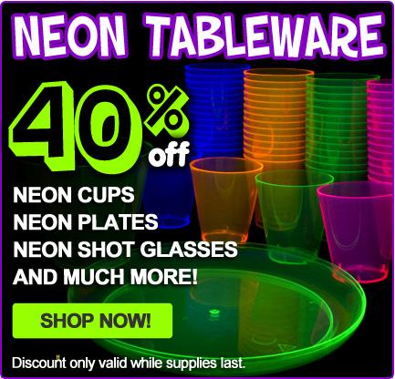 Blacklight Party Supplies | Blacklight Decorations | Blacklight Party Favors - CoolGlow.com ...