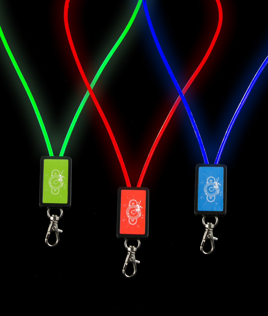 Led Cloth Lanyard Multicolor Fun Central Valentine Chaser