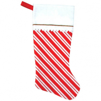 Candy Cane- Felt Stocking