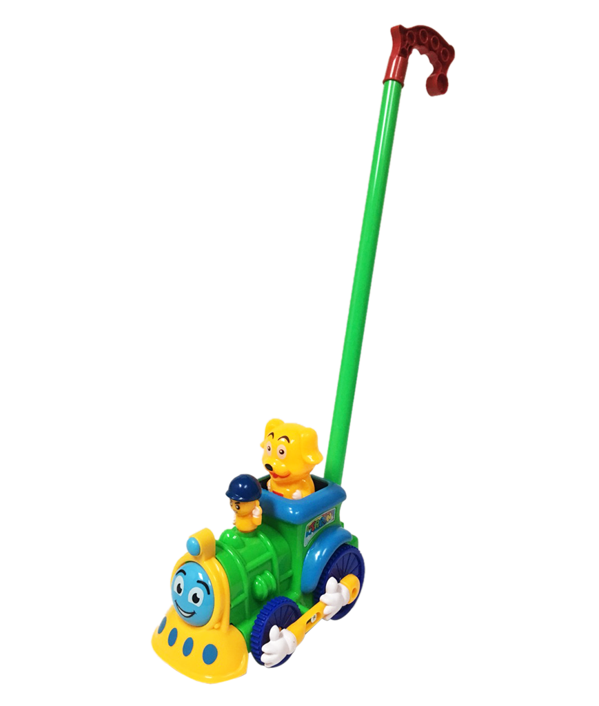 8 Inch Train Push Toy