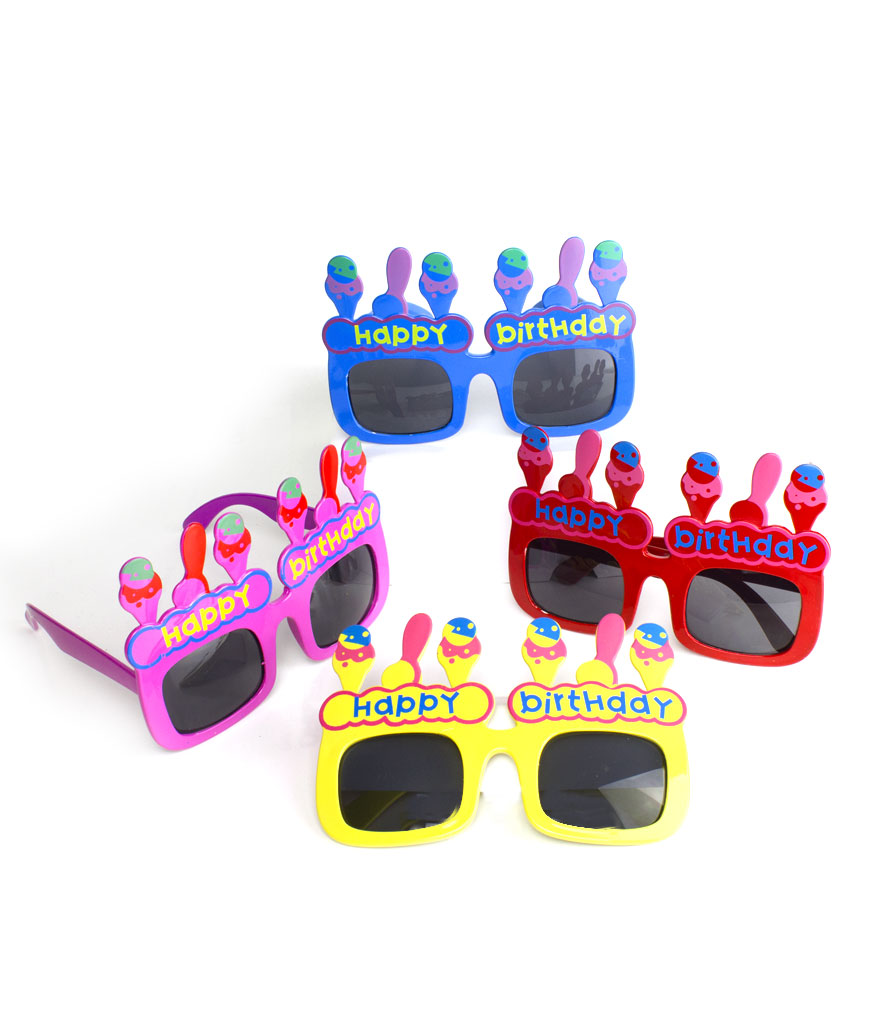 Happy Birthday Sunglasses - Assorted 12ct