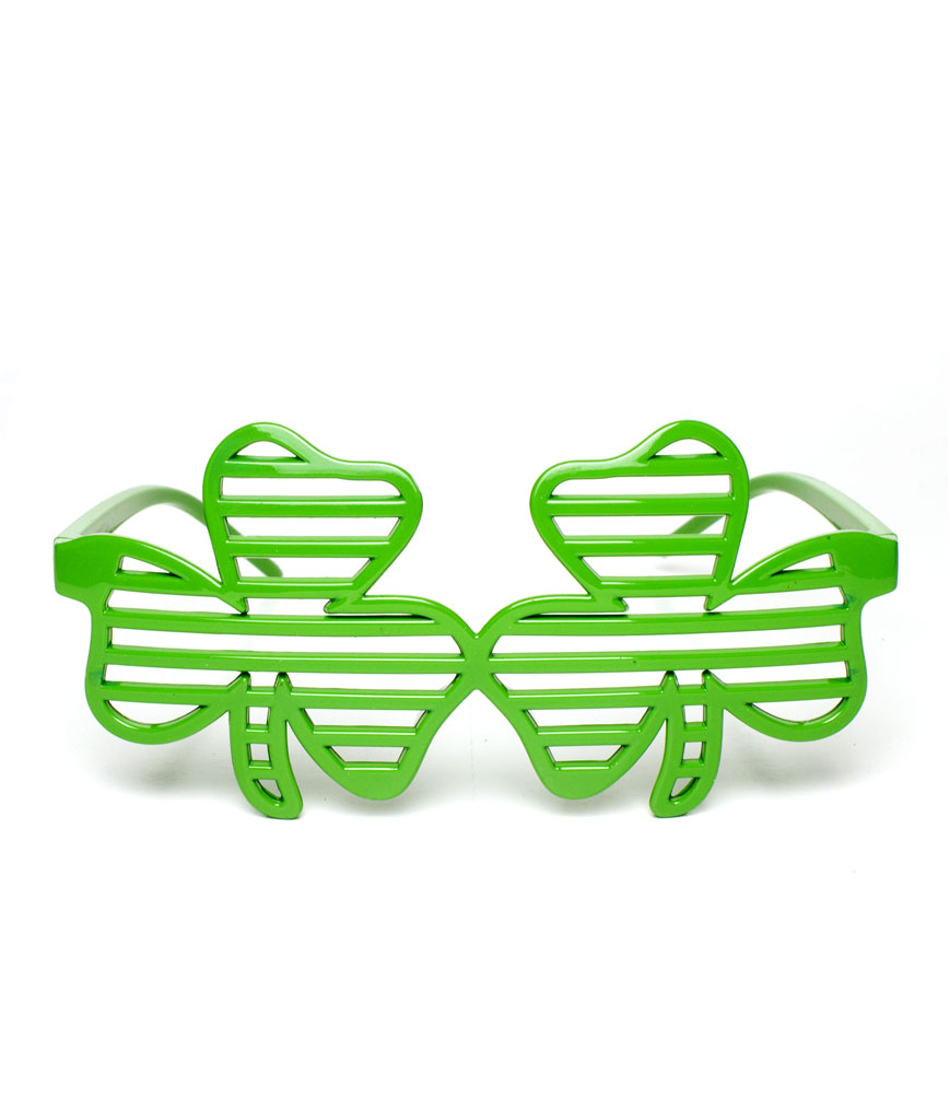 Shamrock Slotted Shades