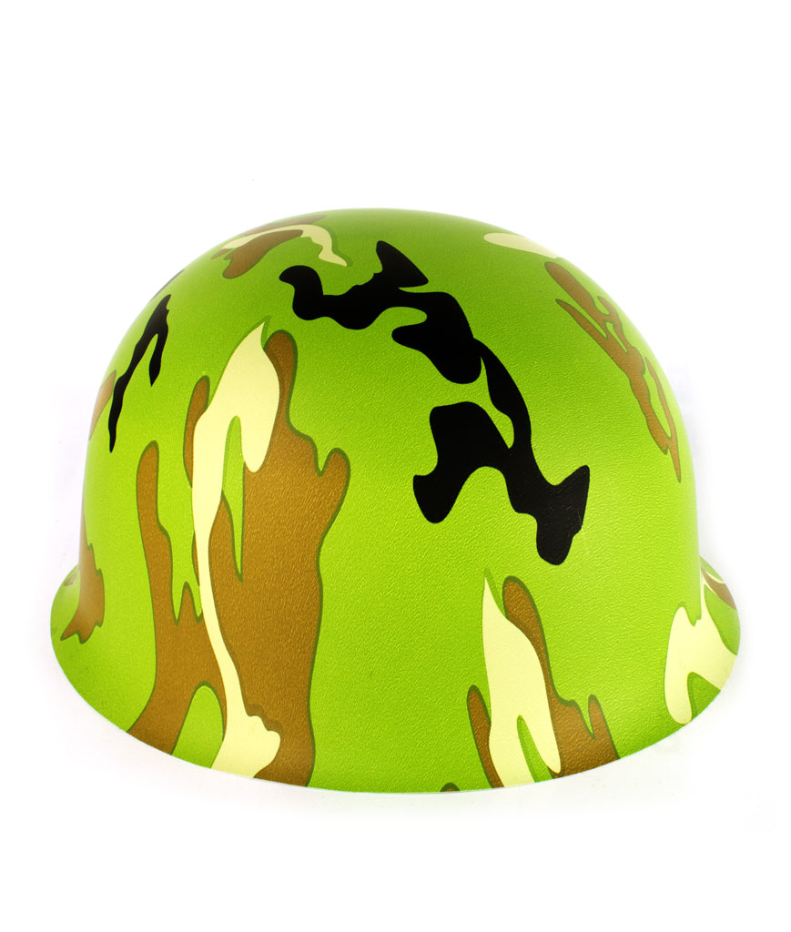Fun Central AT835 Camo Army Hats - 12ct