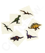 Cool Dinosaur Tattoos -72ct