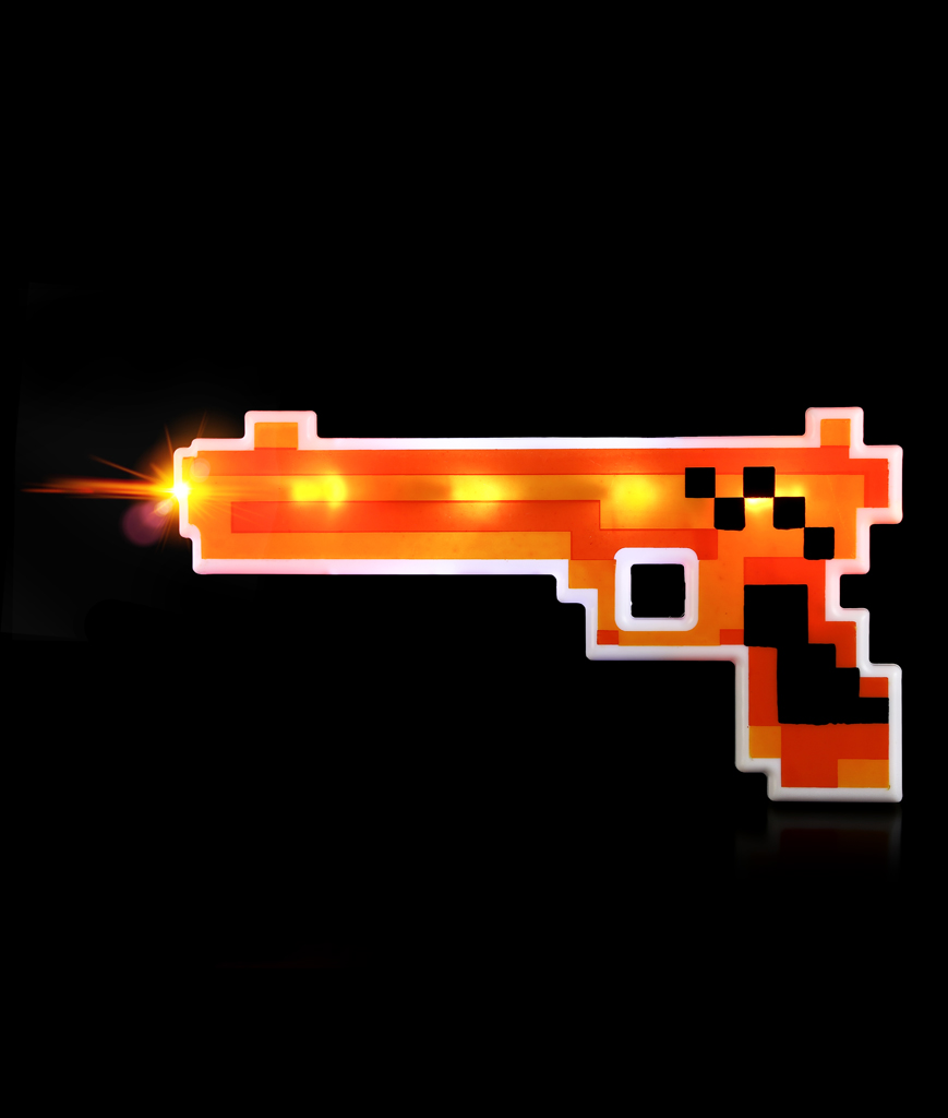 LED Pixel Gun - Orange