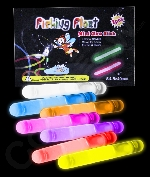Fun Central X537 1.5 Inch Retail Packaged Glow in the Dark Sticks - Assorted