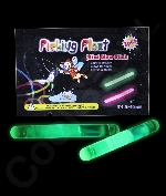 1.5 Inch Retail Packaged Glow Sticks - Green