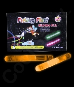 1.5 Inch Retail Packaged Glow Sticks - Orange