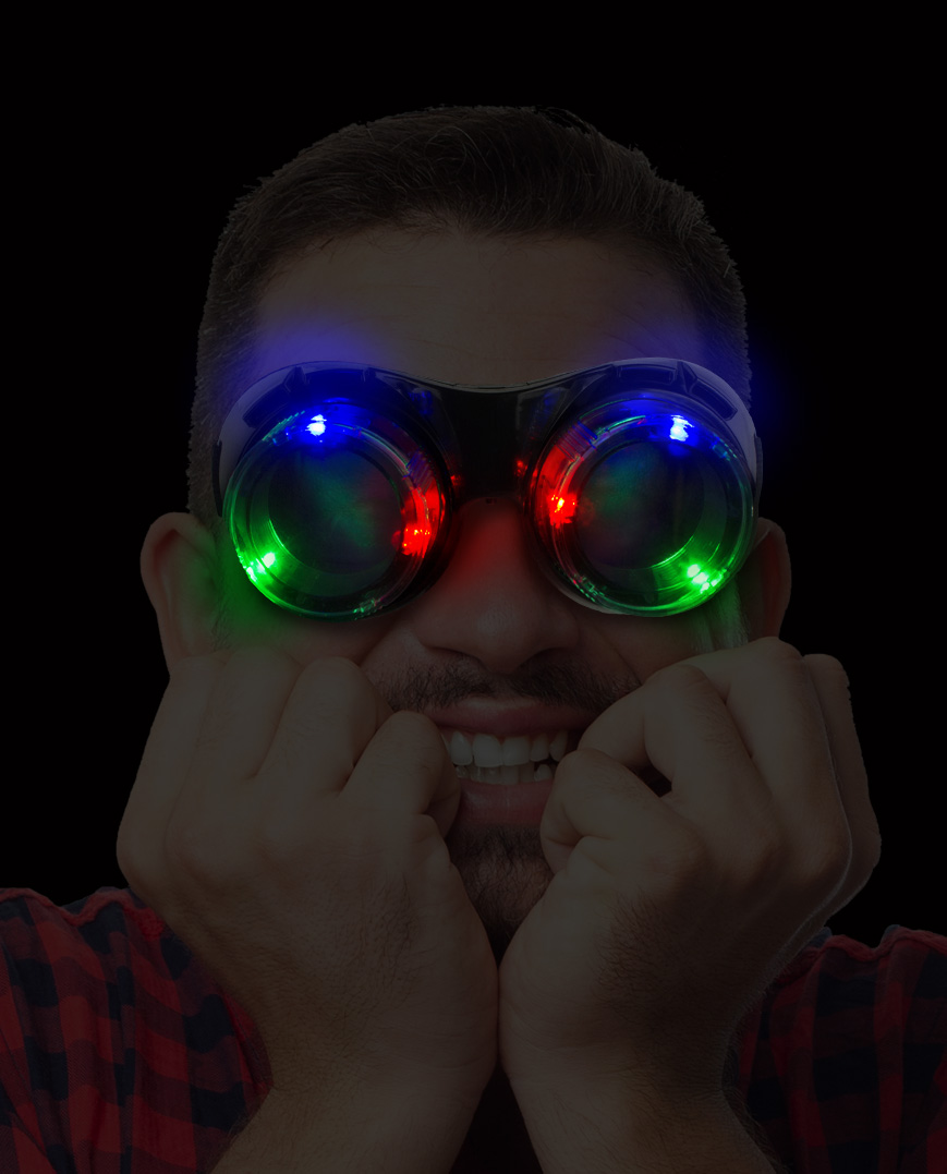 LED Beer Goggles