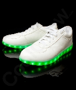 Fun Central AU526 LED Light Up White Shoes - M9W11