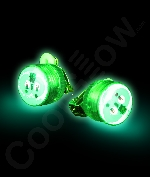 Fun Central AD168 LED Light Up Clip On Blinky Light - Green