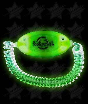 LED Stretchy Bracelet - Green