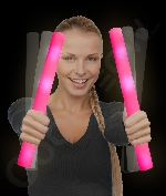 LED Foam Stick Baton Supreme - Pink