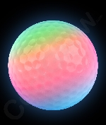 LED Litecubes Brand Ice Cubes - Multicolor Golf Balls
