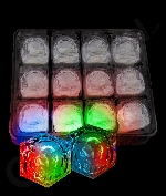 LED Light Up Ice Cubes - Multicolor