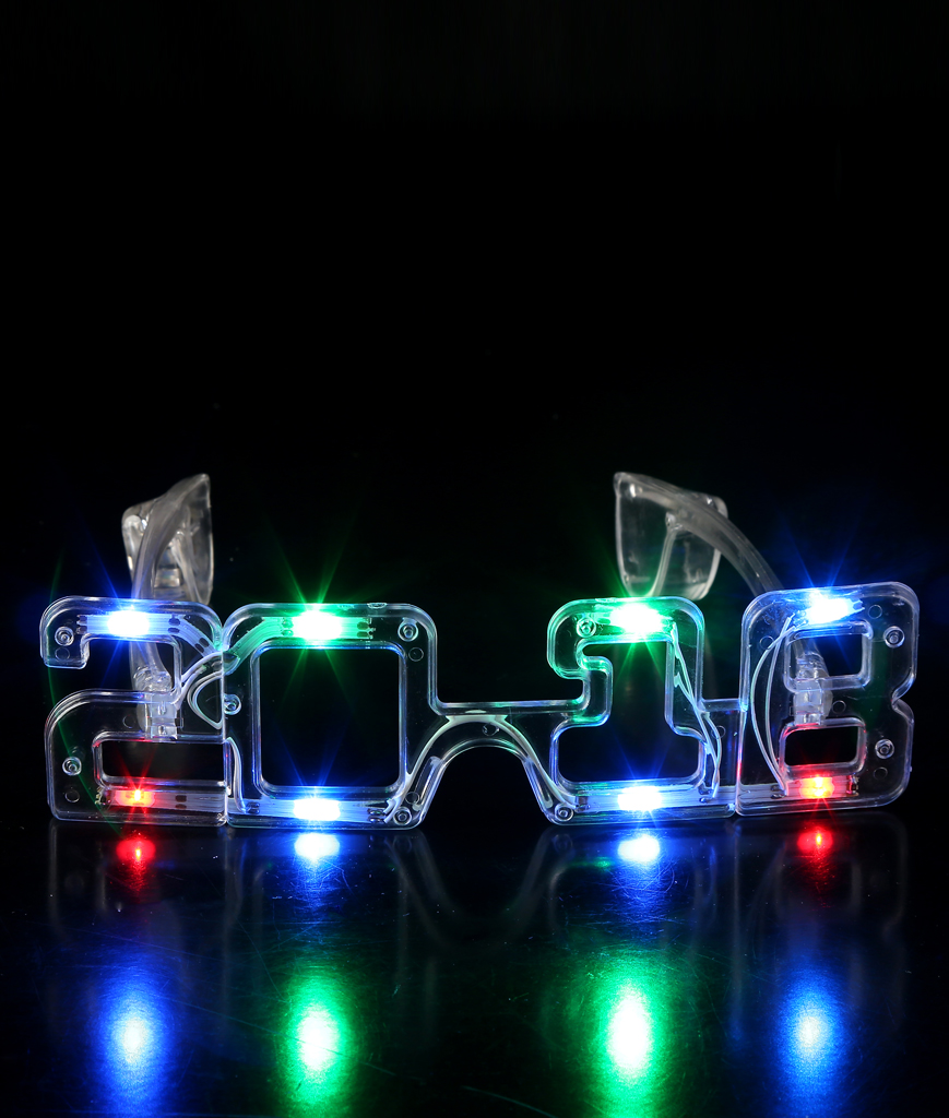 Fun Central BC807 LED Light Up 2018 Eyeglasses - Multicolor