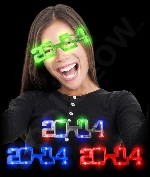 LED 2014 Eye Glasses - Assorted