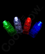 Fun Central AR803 LED Light Up Finger Lights - Assorted 40ct