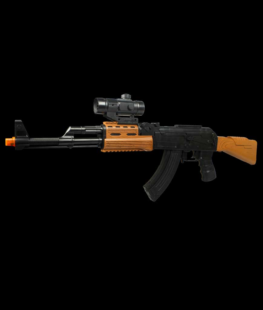 LED 33 Inch AK7744B Rifle